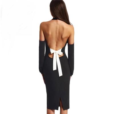 שמלת-גב-פתוח-עם-פפיון - יד 2