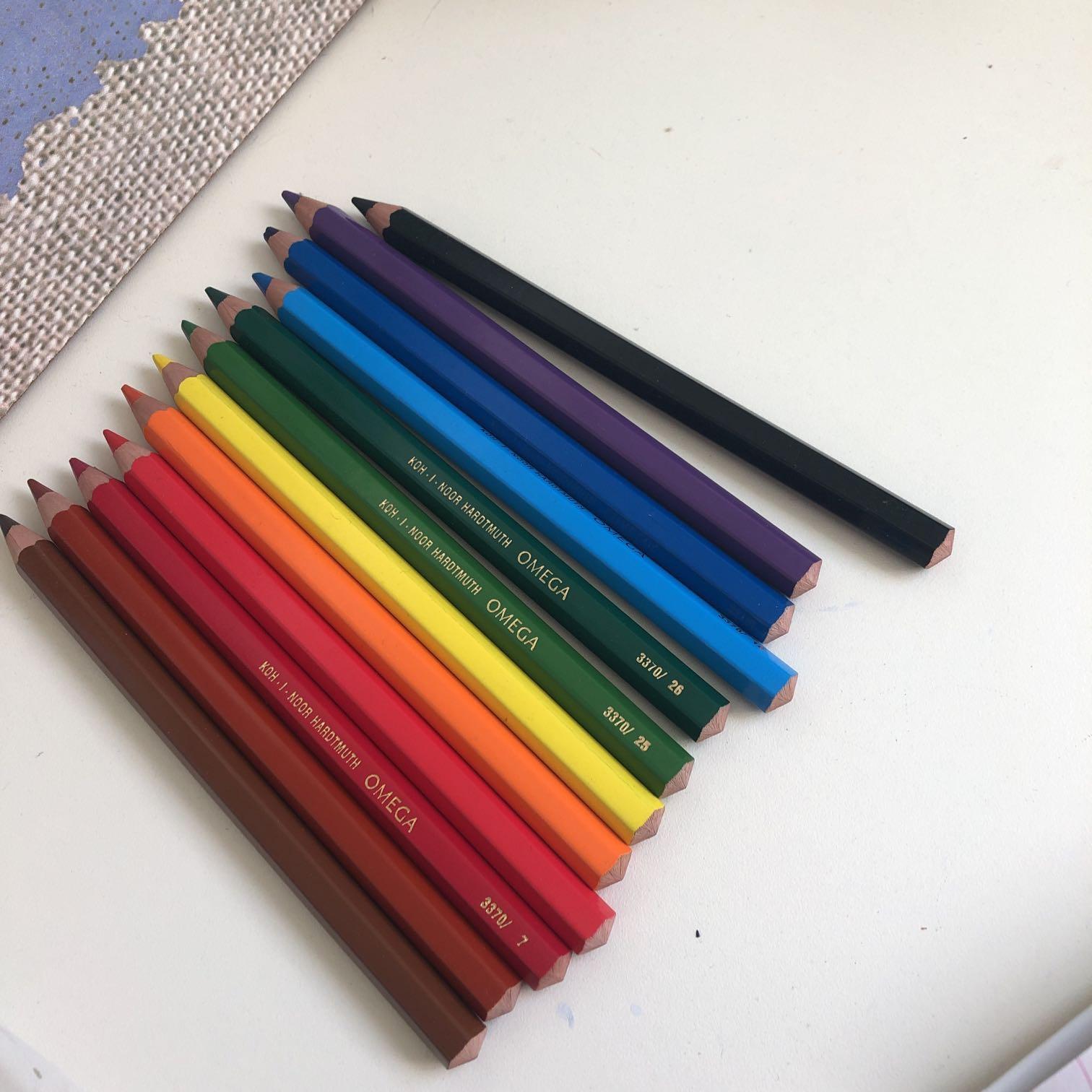 עפרונות-אומגה-מיוחדים-לציור-ורישום - יד 2