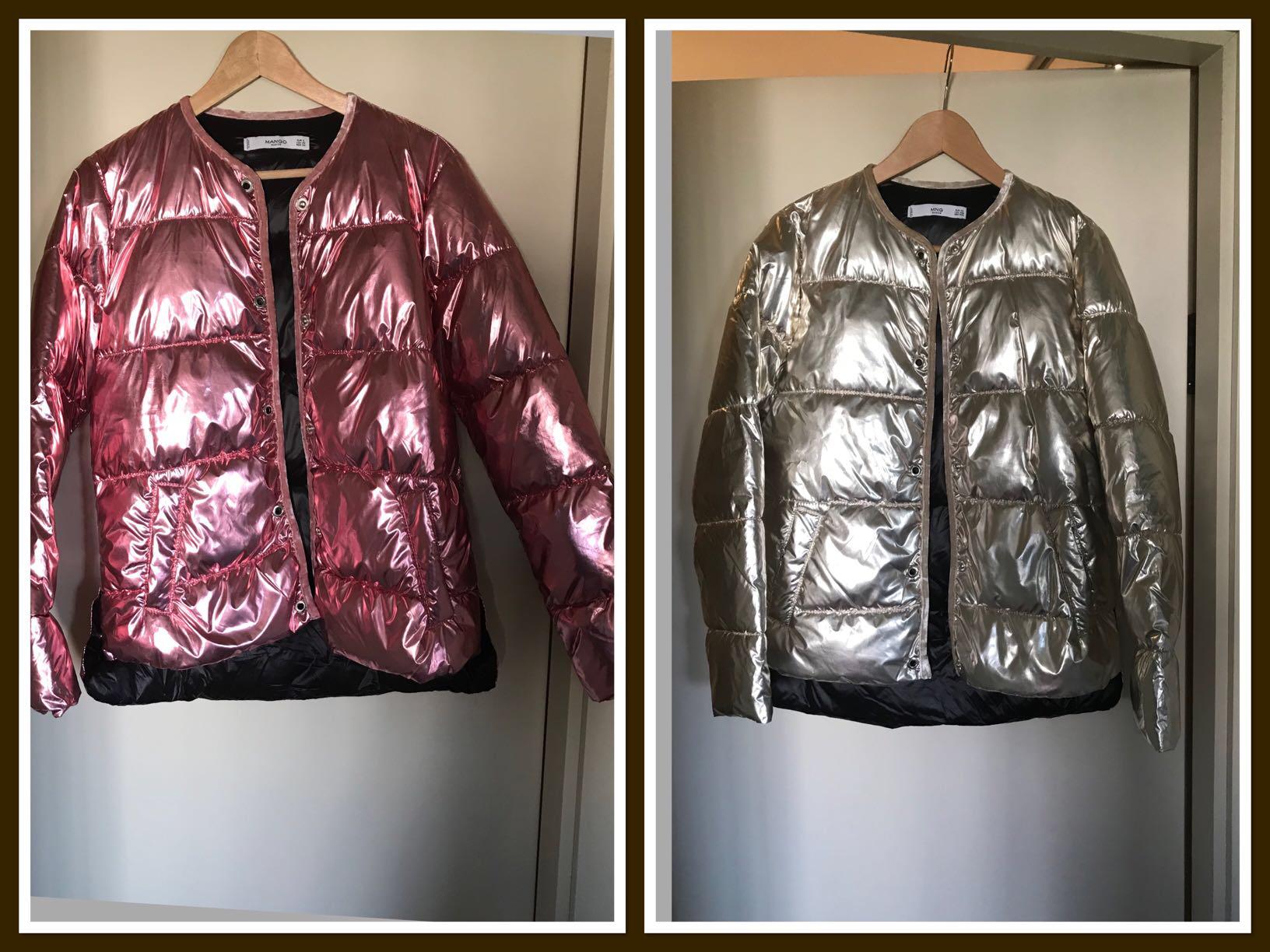 מעילים-מחשמלים-של-מנגו-מידה-Xs-חדשים - יד 2