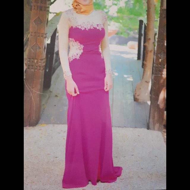 שמלה-בצבע-ורוד-מהממת-וחדשה - יד 2