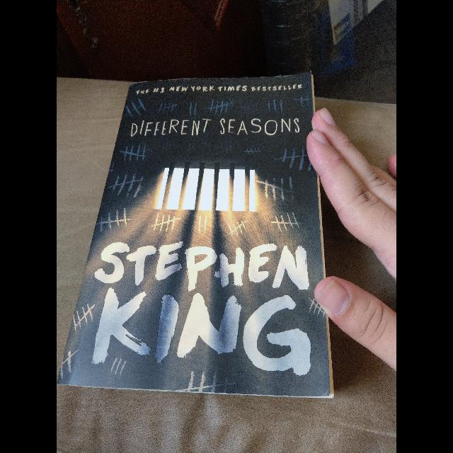 """הספר-""""עונות""""-של-סטיבן-קינג,-כולל-""""אני-והחבר'ה""""- - יד 2"""