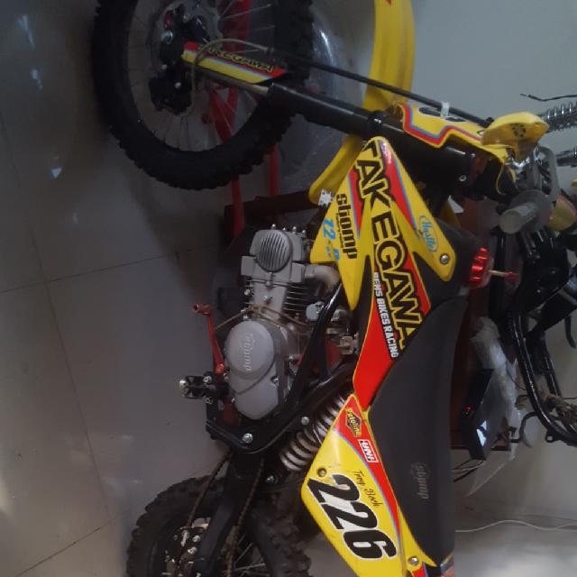 אופנוע-שטח-על-דלק-לילדים-140-סמק--מציאה!0507442231 - יד 2