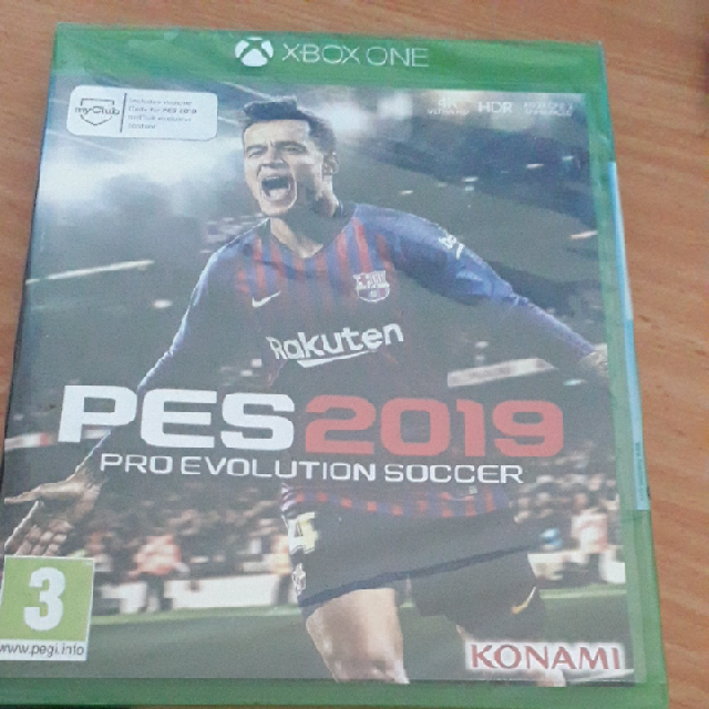 משחק-PES-2019-Xbox-one-חדש-באריזה - יד 2