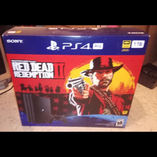 PS4-PRO-Red-Dead-Redemption-2-bundle - יד 2
