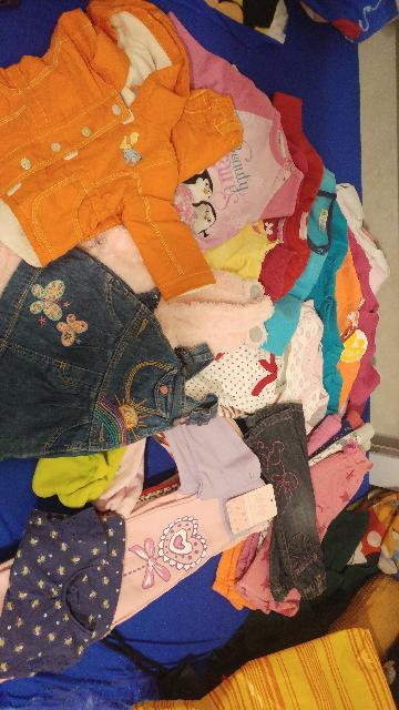בגדים-חורף-לתינוקת-3-6-חודשים.-יותר-מ-50-פריטים.-מצב-חדש-וכמו-חדש. - יד 2