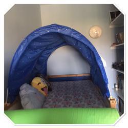 אוהל-למיטת-איקאה - יד 2