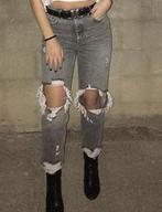 ג׳ינס-מברשקה,-נלבש-4-פעמים-וכובס-כמובן,-מידה-36.