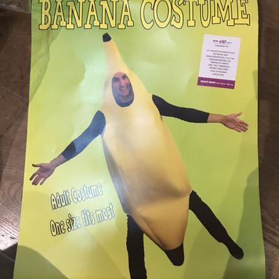 תחפושת-בננה-ושרשרת-בננות