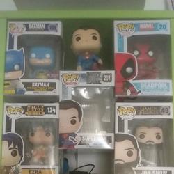 5-בובות-פופ-של-דדפול,-סופרמן,-באטמן-במהדורה-מיוחד- - יד 2