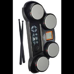 מערכת-תופים-עם-צג-ושמע-אלקטרונית-ועובדת-גם-עם-סוללות.כולל-מקלות - יד 2