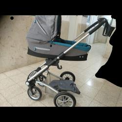 עגלה-לילד-ולתינוק-של-המותג-Mutsy-במצב-כמו-חדש - יד 2