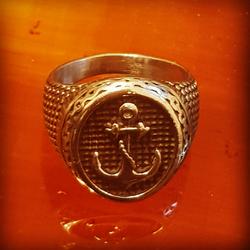 טבעת-רב-חובל-s-steel-#20 - יד 2