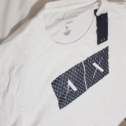חולצה-לבנה-קצרה-של-ארמני-xl